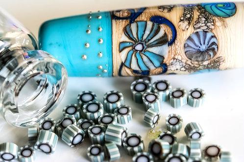 Turquoise and Ivory Murrini
