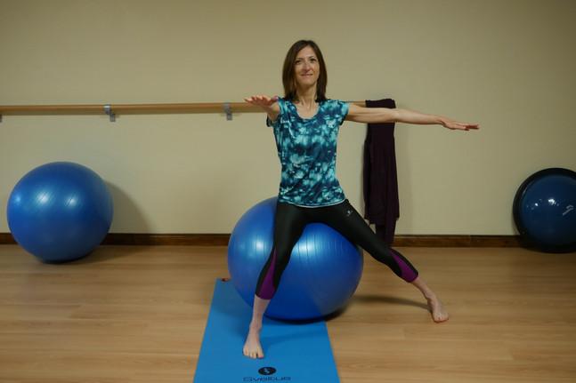 Isabelle Vrillon Professeur de Gym-Ballon