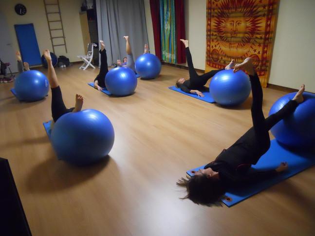 Cours de Gym-Ballon