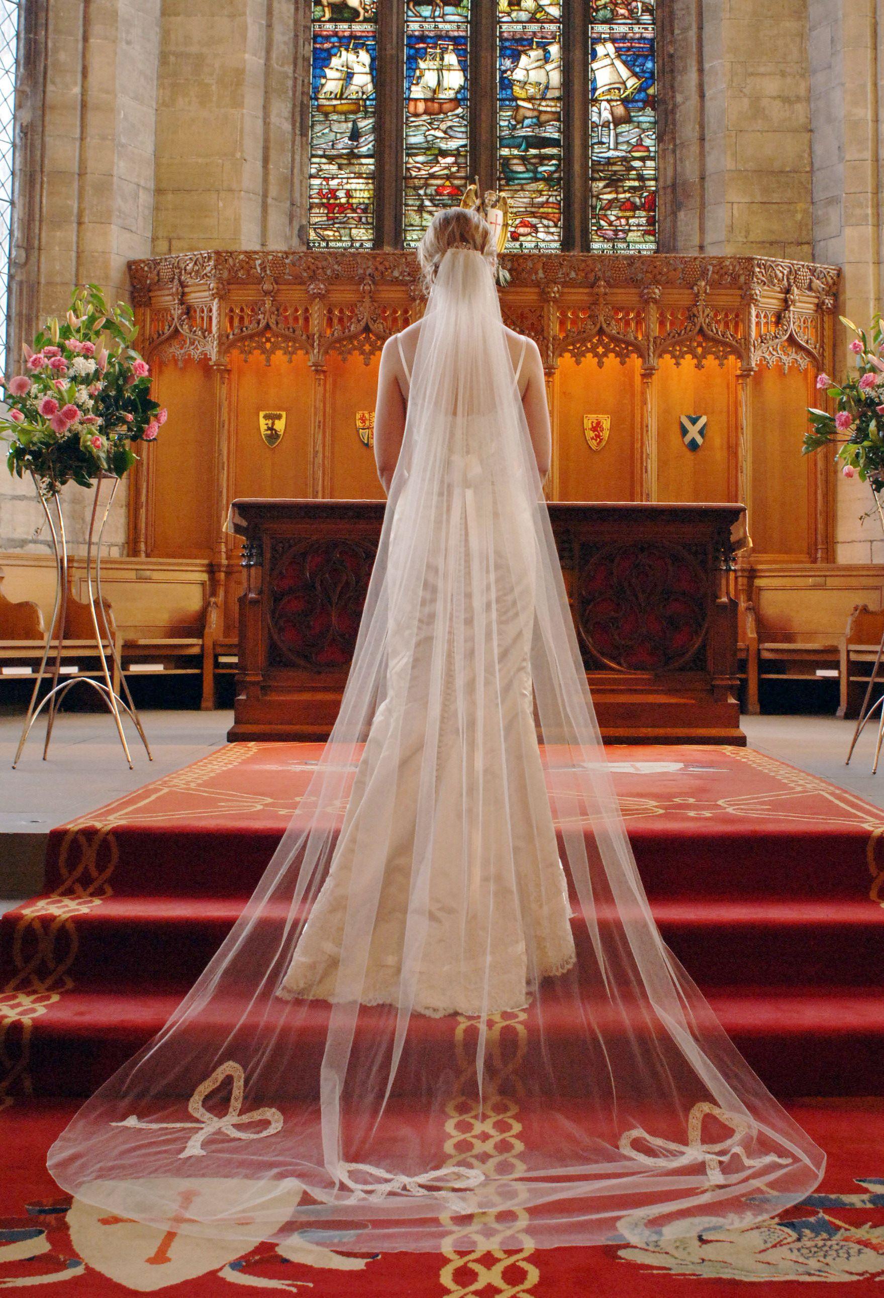 Veils United Kingdom Ann Guise Silk Wedding