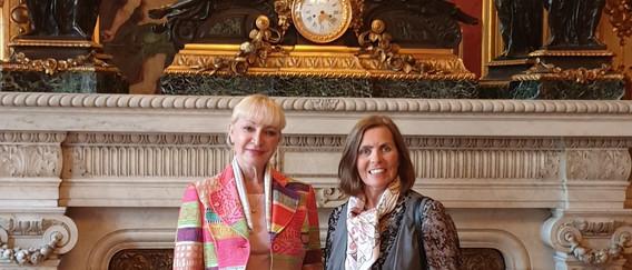 photo avec Mme Mauduit Passenca de Monac