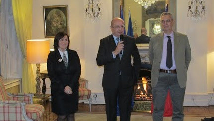 voeux Ambassadeur 2014 Residence de Fran