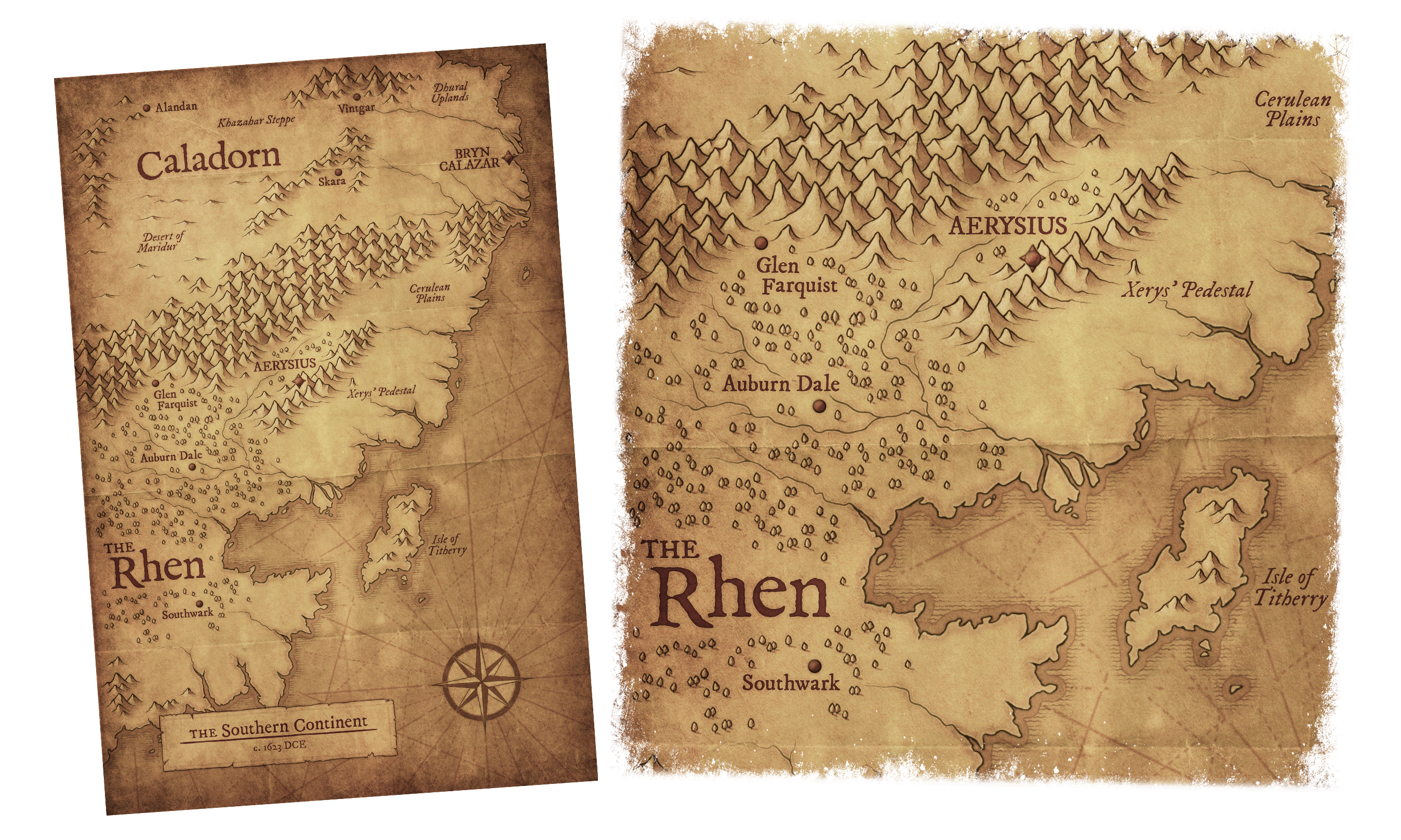 Rhenwars: Southern Continents