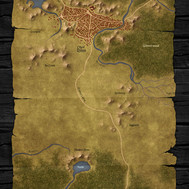 The City of Rimm and Surrounding Area