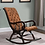 Thumbnail: Alvino Rocking Chair in Brown Colour