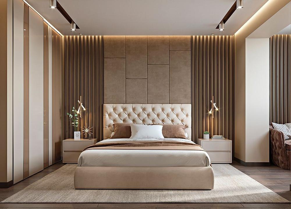 Modern Bedroom Design Ideas. Lid Interior, Best Interior Company In Kolkata.