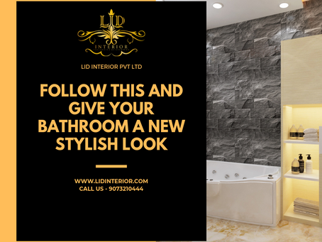 Follow This And Give Your Bathroom A New Stylish Look