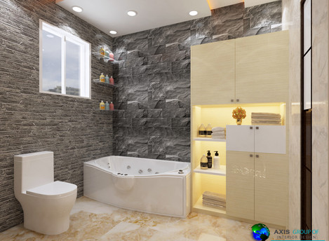 Your Small bathroom looks bigger and comfortable!