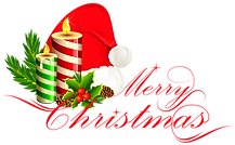 Merry_Christmas_Deco_with_Santa_Hat.png
