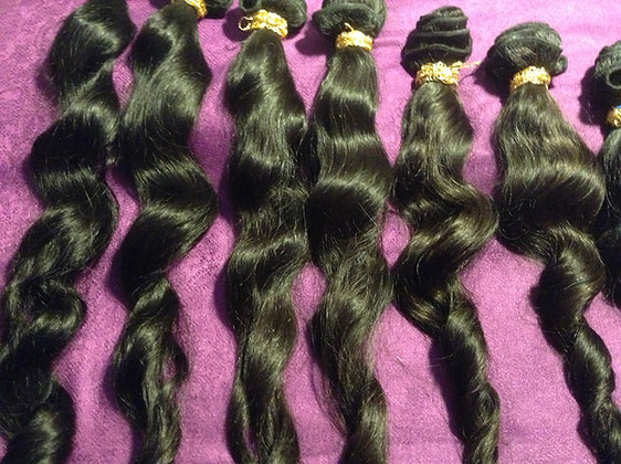 Virgin Brazilian 100% Human Hair