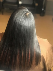 Hair Salon Relaxer