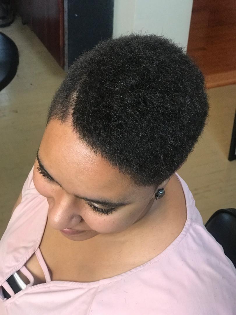 Women Hair Salon Cut