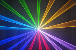 laser de colores