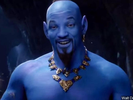 Is Disney's Aladdin Genie a little too blue?