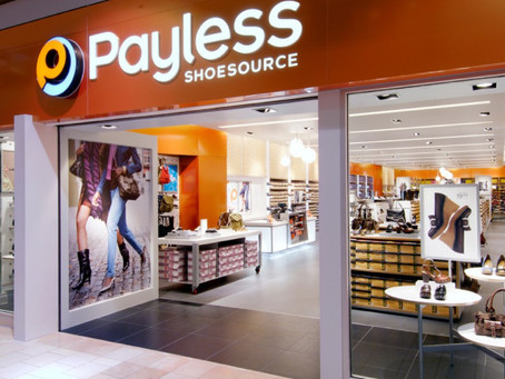 Filed under: Retail Armageddon -Payless Closes All Stores
