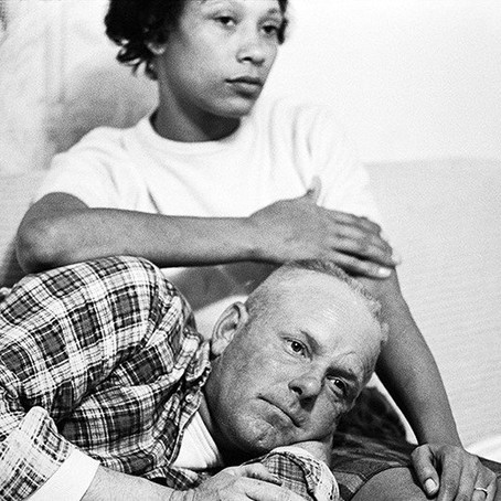 Interracial marriage was banned in 1664 and not overturned until 1967.