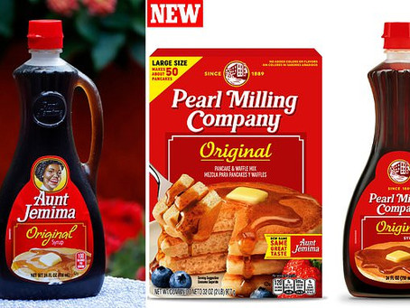 Aunt Jemima changes name to: Pearl Milling Company