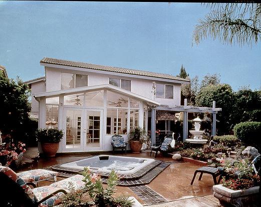 Gabled Roof Sunroom