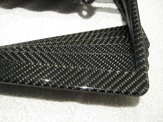 JDP Carbon Fiber License Plate Frame