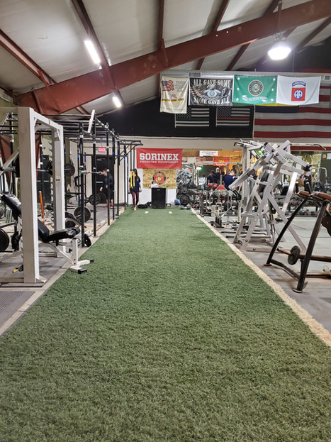 Turf In The Main Gym