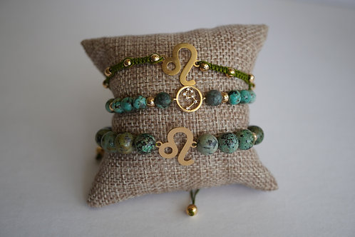 Leo - string bracelets