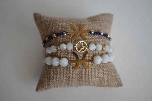 Pisces - string bracelets