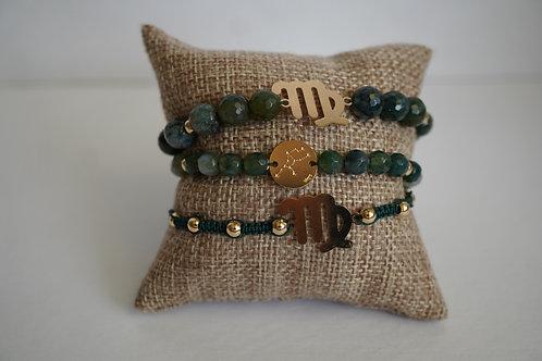 Virgo - string bracelets