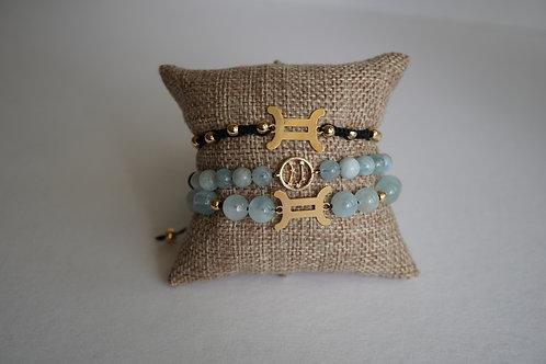 Gemini - string bracelets