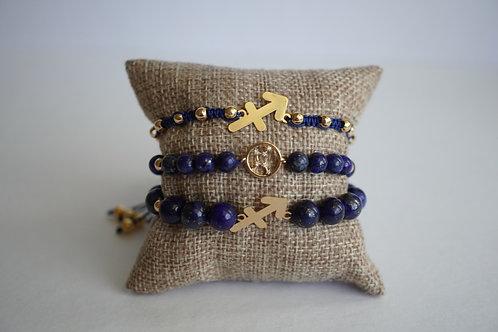 Sagittarius - string bracelets