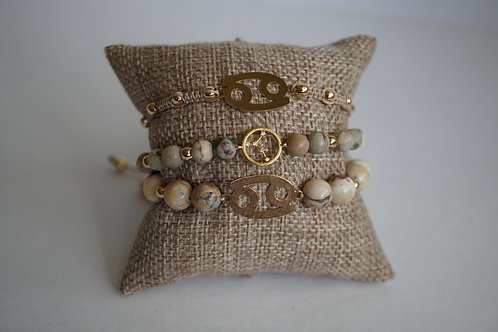 Cancer - string bracelets