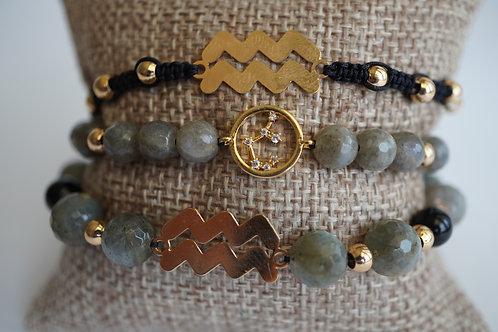 Aquarius - string bracelets