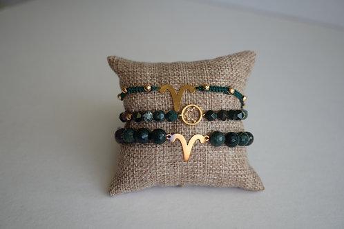 Aries - string bracelets