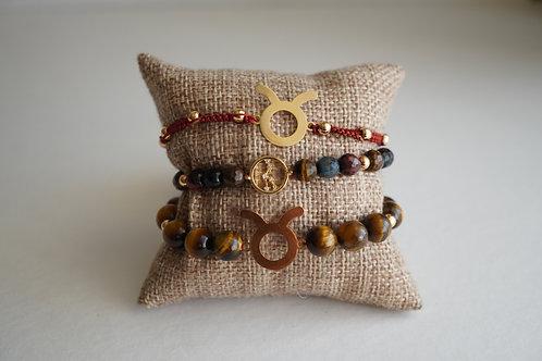 Taurus - string bracelets