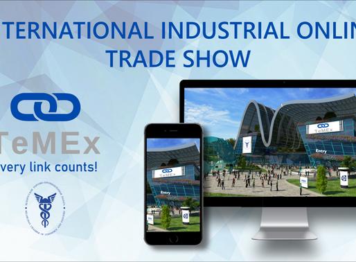 Invitation to TeMEx International Industrial Online Expo