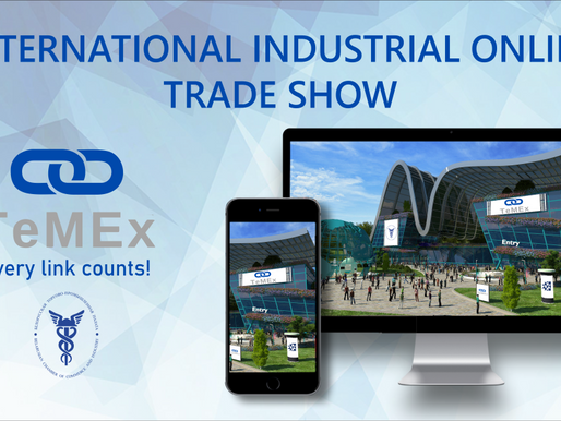 Invitation to TeMEx International Industrial Online Expo