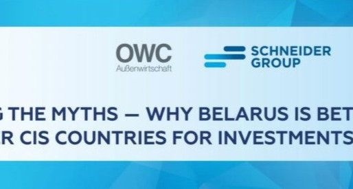 03/06 Webinar from Schneider Group about investments in Belarus