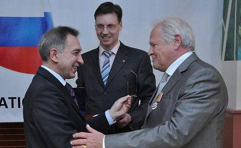 CCBLR Brussels has received high official decoration of Russian Federation for contribution to international cooperation