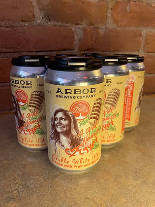 Arbor Brewing A Girl Named Egypt Double White IPA 6 Pack