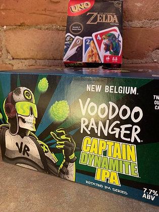 New Belgium Voodoo Ranger Captain Dynamite IPA 6 Pack