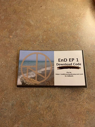 EnD EP 1 Download Card
