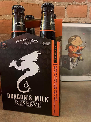 Dragon's Milk Reserve Peanut Butter 4 Pack
