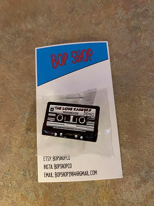 Michelle Webster - Airheads The Lone Rangers Demo Tape Pin
