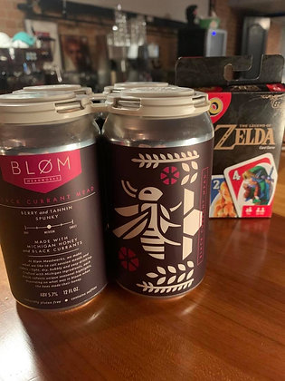 Blom Black Currant Mead 4 Pack