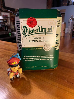 Pilsner Urquell 16.9oz can 4 pack