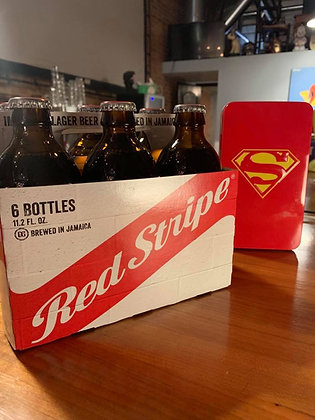 Red Stripe 6 Pack