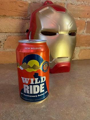 New Belgium Wild Ride Amber IPA