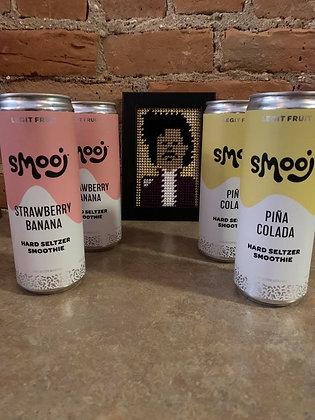Troobado Smooj Seltzer Smoothie Sampler 4 Pack