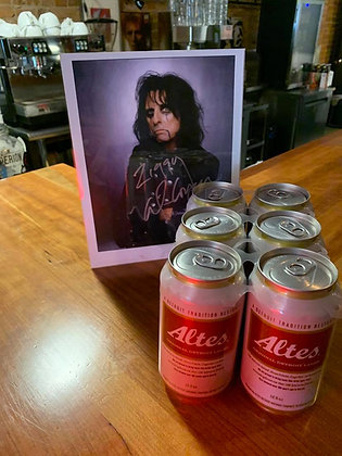 Altes Detroit Lager 6 pack cans