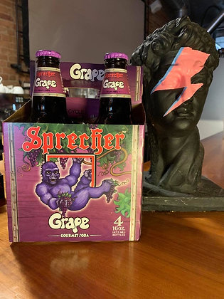 Sprecher Grape Soda 4 pack