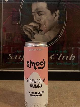Troobado Smooj Strawberry Banana Seltzer Smoothie